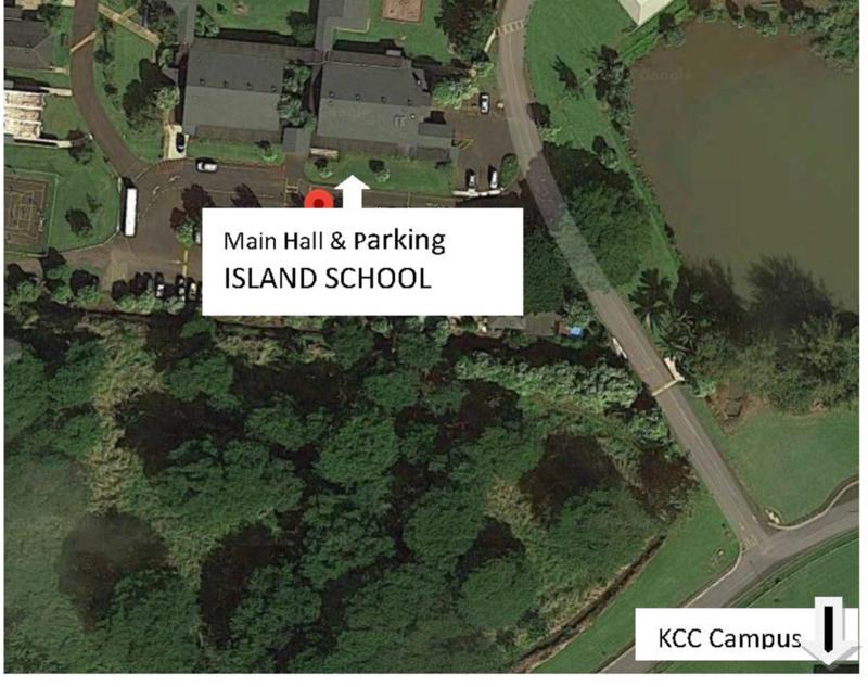 Island School Main Hall Map